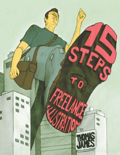 Livre 15 steps to freelance illustration