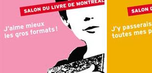 Affiches Salon du Livres Montreal