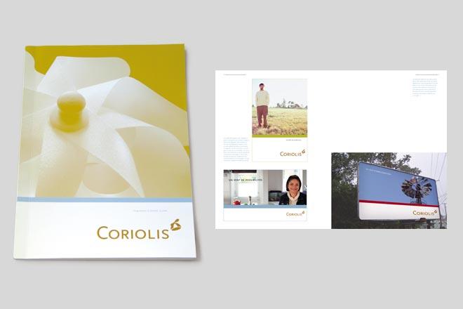 Programme d'identite visuelle de Coriolis