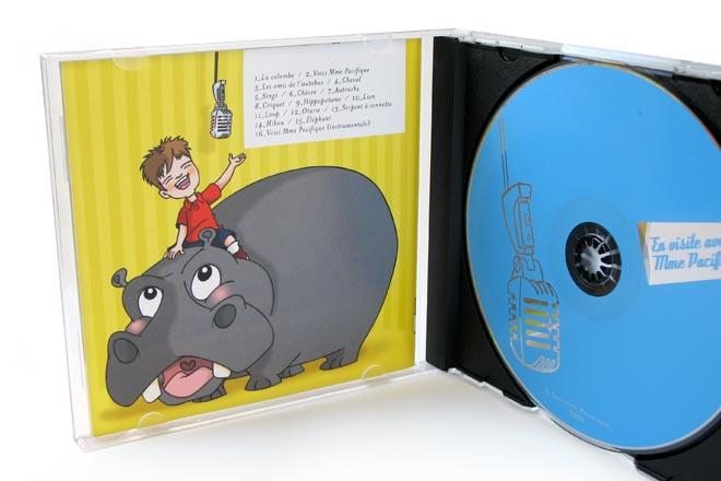 Pochette de disque du programme 4 ans