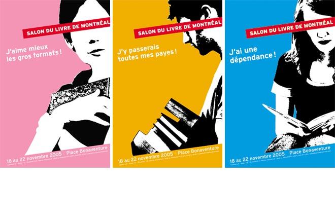 Affiches Salon du livre de Montreal