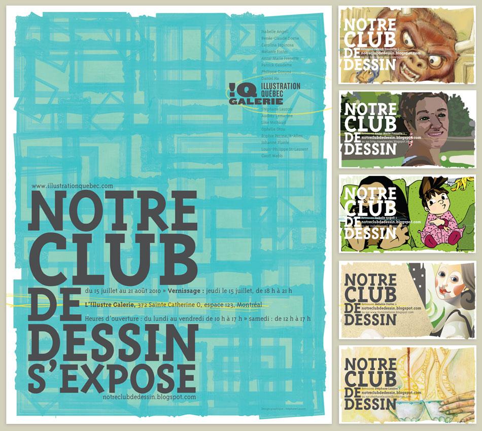 Visuel de l'exposition Notre Club De Dessin