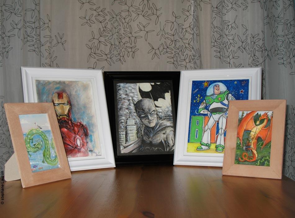 Noël, fan arts et gourmandises