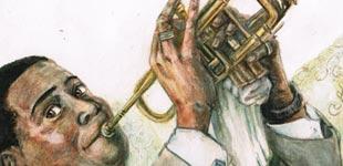 Louis Armstrong par stephane Laauzon