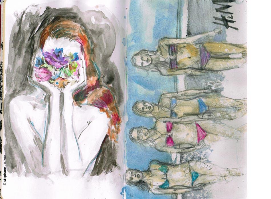 stephane lauzon Illustration Elle Quebec
