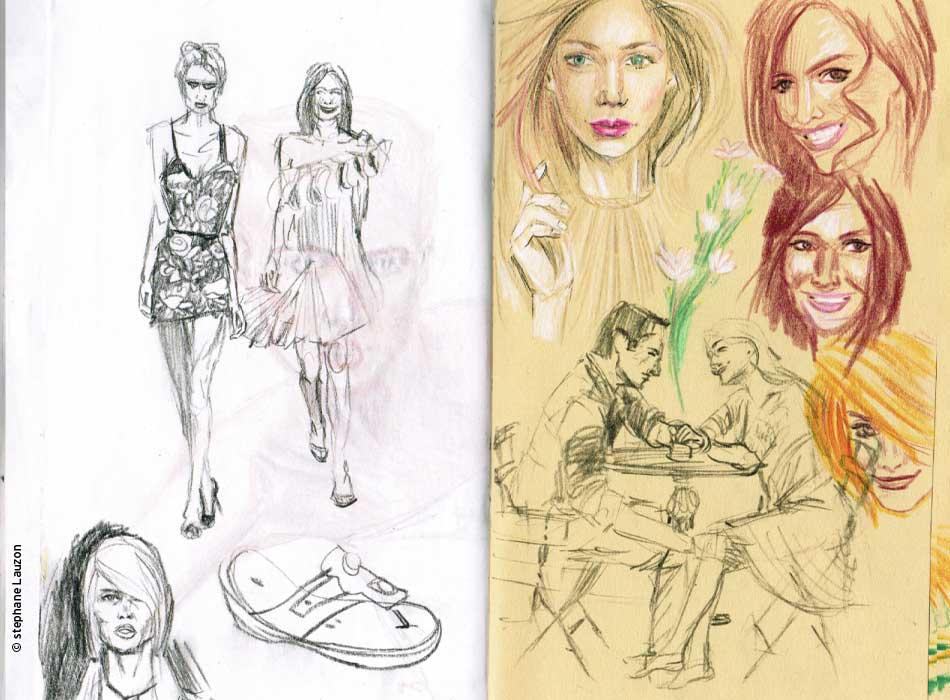 Stephane Lauzon - Esquisses / Sketch