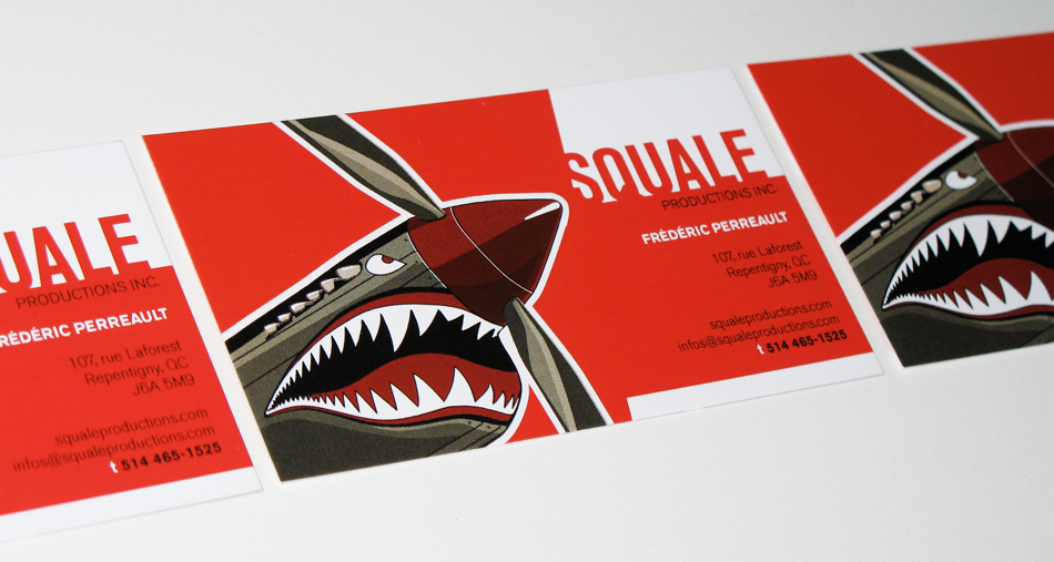 slauz - Carte d'affaires Squale Productions