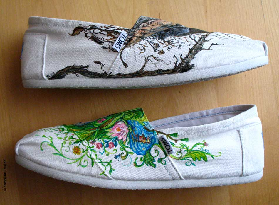 stephane lauzon, Style your sole - Toms