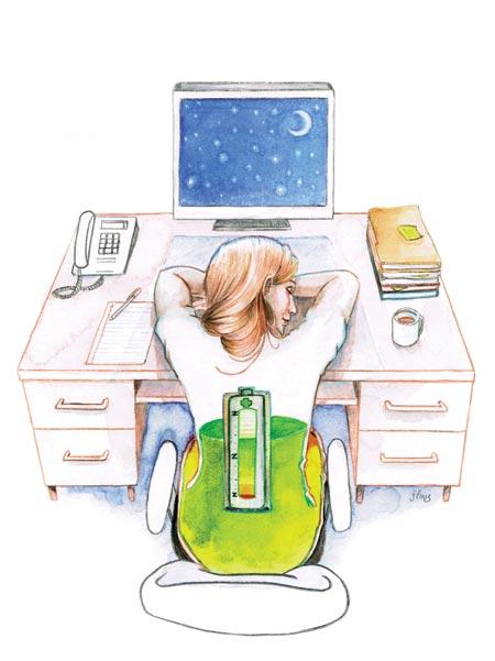 Slauz : Bienfaits de dormir au travail