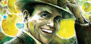 Portrait de Frank Sinatra par Stephane Lauzon