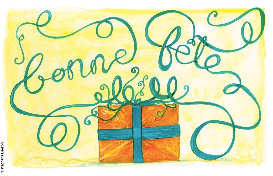 Carte d'anniversaire par Stephane Lauzon