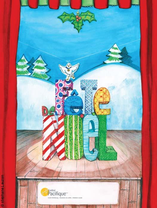 affiche de noël  / Christmas poster