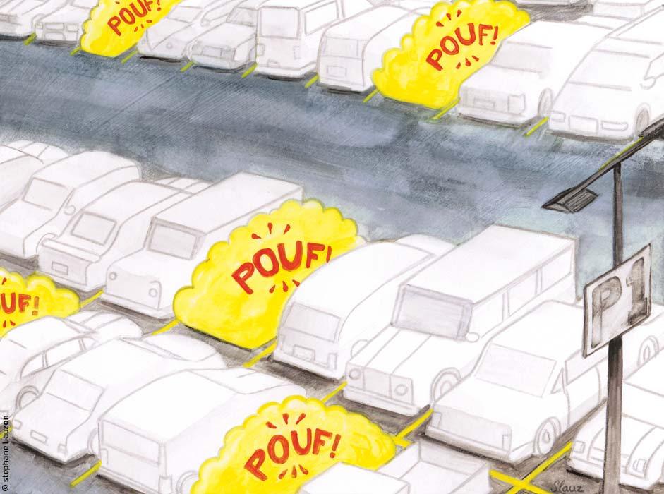 illustration vol auto