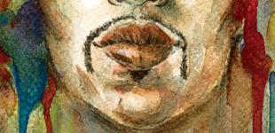 Portrait de Jimi Hendrix