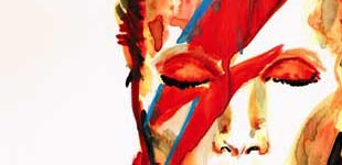 Stephane Lauzon Illustration, stephanelauzonillustration.com, David Bowie