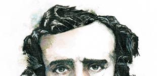 Stephane Lauzon Illustration, stephanelauzonillustration.com, Edgar Allan Poe