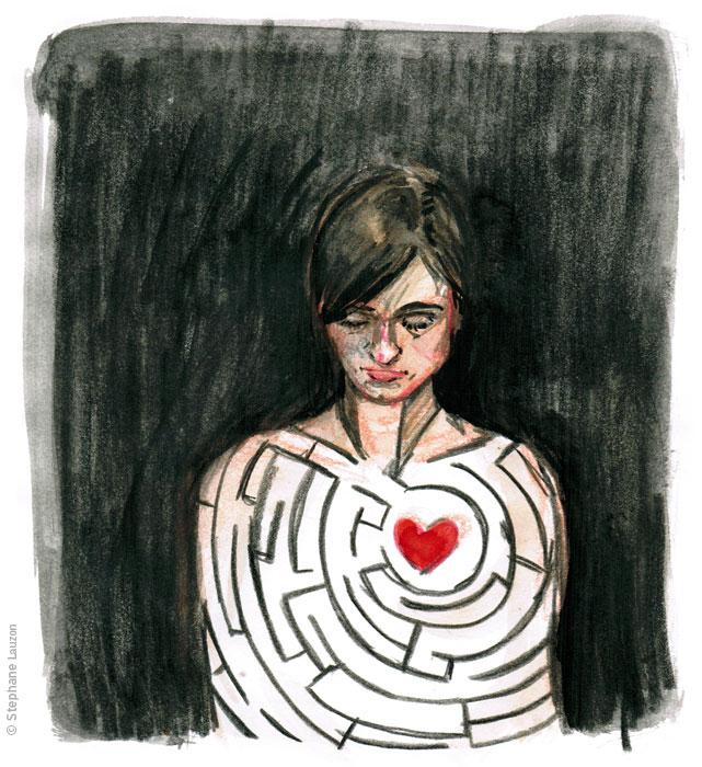 stephane lauzon, illustration, illustration friday - LOST