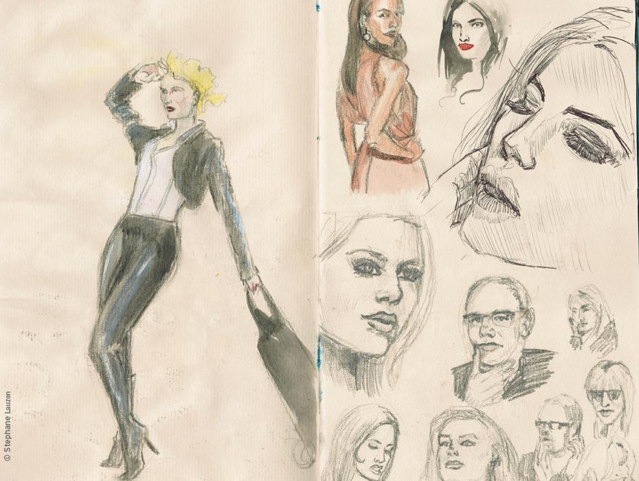 Stephane Lauzon illustration Sketch & Portrait