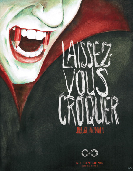 stephane lauzon illustration, Halloween,