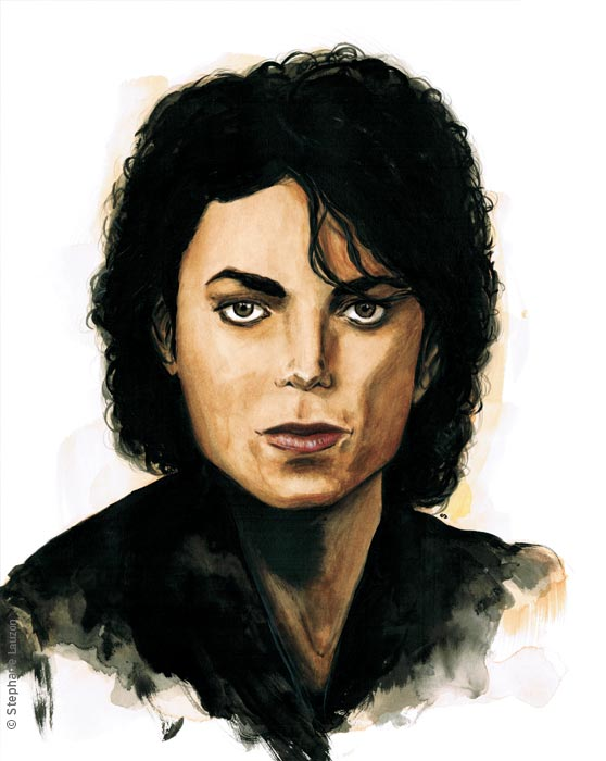 Michael Jackson by Stephane Lauzon