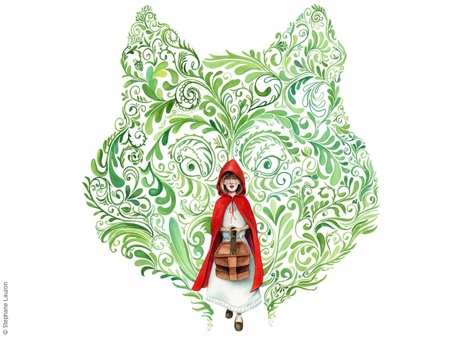 Red Riding Hood / Petit Chaperon Rouge par Stéphane Lauzon