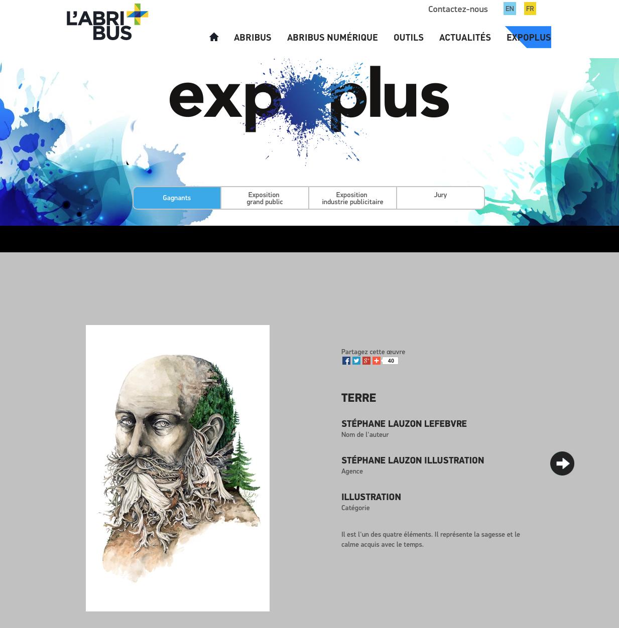 Gagnant Expo Plus Stéphane Lauzon