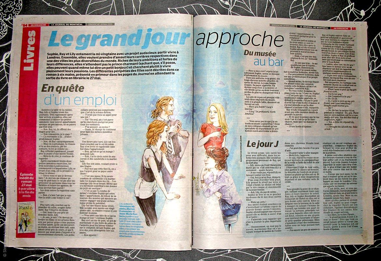 Roman 27 mai, illustré par Stéphane Lauzon
