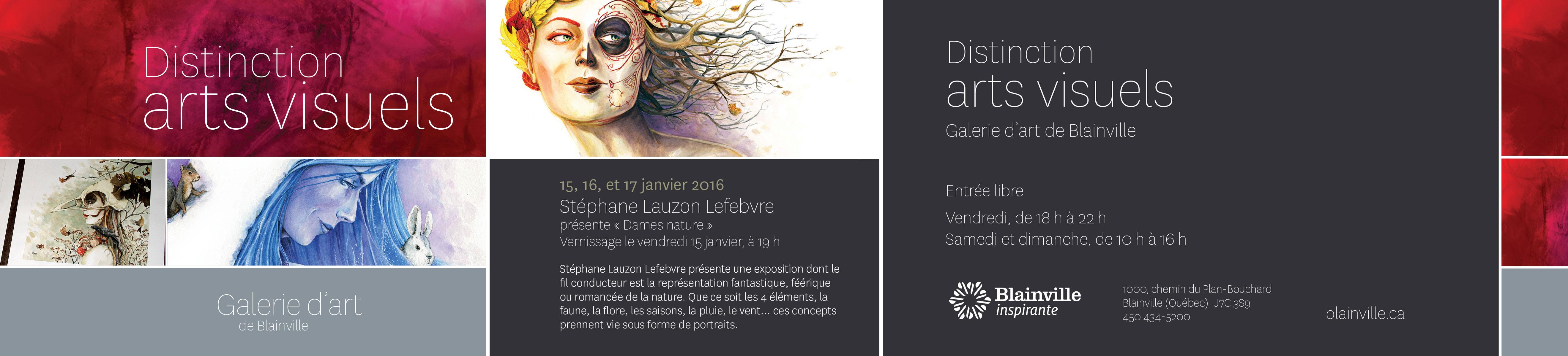 Distinction arts visuels : Stéphane Lauzon Lefebvre présente « Dames nature »